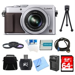 Panasonic LUMIX LX100 Integrated Leica DC Lens Camera 64G...