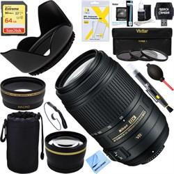 Nikon 55-300mm f/4.5-5.6G ED VR AF-S DX NIKKOR Lens f/Nik...