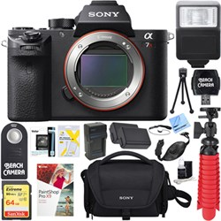 Sony a7R II Full-frame Mirrorless 42.4MP Camera Body + 64...
