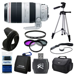 Canon EF 100-400mm f/4.5-5.6L IS II USM Lens  Deluxe Bundle