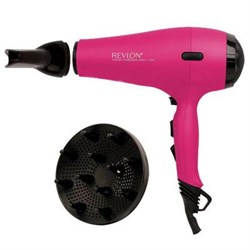 Helen of Troy Revlon 1875W AC Ionic Dryer HELRVDR5141PNK