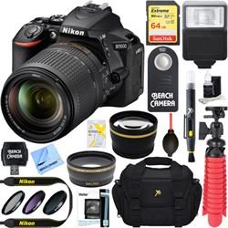 Nikon D5600 24.2MP DSLR Camera + AF-S 18-140mm ED VR Lens...