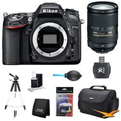 Nikon D7100 DX-Format Digital HD-SLR Body w/ 3.2 LCD Monitor 18-300mm VR Pro Lens Kit