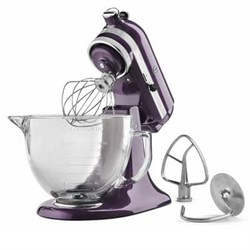 KitchenAid Artisan Series 5-Quart Stand Mixer in Plumberr...