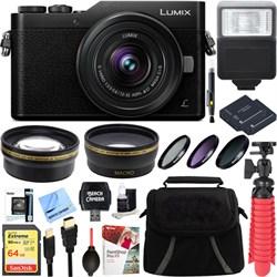 Panasonic LUMIX GX850 Black 16MP Mirrorless Digital Camer...