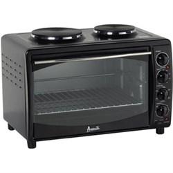 Kitchen Appliances - 1473213 - Oven W/burner 22.75x15.75x15.4 Black Avamkb42b 1473213