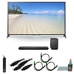 Sony KDL70W850B - 70-Inch 1080p 120Hz Smart 3D LED HDTV Motionflow XR 480 Wifi Bundle