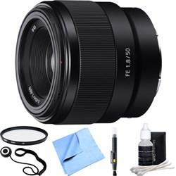 Sony FE 50mm F1.8 Full-frame Prime E-Mount Lens SEL50F18F...