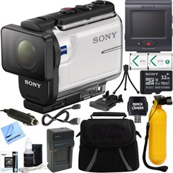 Sony HDR-AS300R Action Cam + Live View Remote & 32GB Acce...