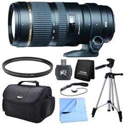 Tamron SP 70-200mm F/2.8 DI VC USD Telephoto Zoom Lens For Nikon Exclusive Pro Kit