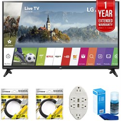 LG 55-inch Full HD Smart TV 2017 Model 55LJ5500 with Exte...
