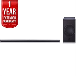 LG SJ8 Sound Bar w/ 4.1ch High Resolution Audio with 1 Ye...