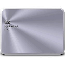Western Digital My Passport Ultra Metal Edition 1TB Silver - WDBTYH0010BSL-NESN