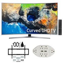"""Samsung 48.5"""" Curved 4K Ultra HD Smart LED TV (2017 Model..."""