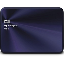 Western Digital My Passport Ultra Metal Edition 1TB Blue - WDBTYH0010BBA-NESN