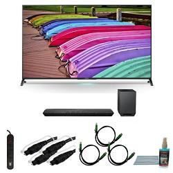 Sony XBR65X850B - 65-Inch X850B 3D 4K Ultra HD Smart TV Motionflow XR 240 Bundle