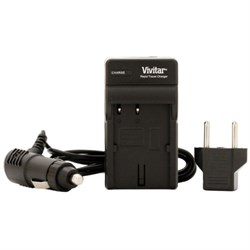 Vivitar 2 Replacement NPBX1 Battery & Charger Kit for Select Sony Cameras and Camcorders VIVSB2QBX1