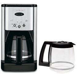 Cuisinart DCC-1200 Brew Central 12 Cup Programmable Coffeemaker Bonus Carafe Bundle E1CUIDCC1200