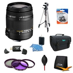 Sigma 18-250mm F3.5-6.3 DC OS HSM Lens for Canon EOS w/ 6...