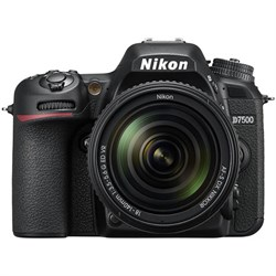 Nikon D7500 20.9MP DX-Format Digital SLR Camera + AF-S 18...