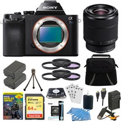 Sony ILCE-7S/B a7S Full Frame Mirrorless Camera 28-70mm L...
