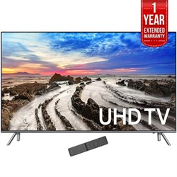 "Samsung 64.5"" 4K Ultra HD Smart LED TV 2017 Model with 1 ..."
