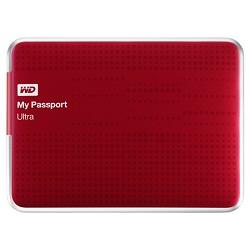 Western Digital My Passport Ultra 500GB USB 3.0 Portable Hard Drive - WDBPGC5000ARD-NESN (Red)