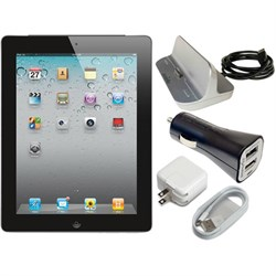 Apple Ipad 2 16GB With WI-FI - Black MC769LL/A Power Bund...