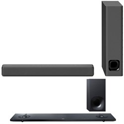 Sony Mini Sound bar with Wireless Subwoofer Black HTMT300...