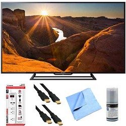 Sony KDL-48R510C - 48-Inch Full HD 1080p 60Hz Smart LED TV Plus Hook-Up Bundle E1SNKDL48R510C
