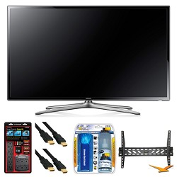Samsung UN60F6300 60 120hz 1080p WiFi LED Slim Smart HDTV Wall Mount Bundle