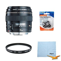 Canon EF 85mm F/1.8 USM Lens Exclusive Pro Kit