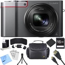 Panasonic ZS100 LUMIX 4K 20 MP Digital Camera - Silver (D...