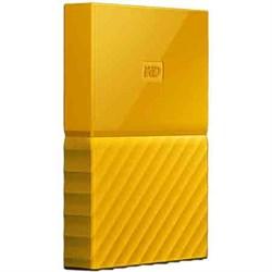 Western Digital WD 2TB My Passport Portable Hard Drive - Yellow WDBYFT0020BYL