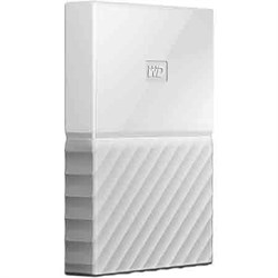 Western Digital WD 3TB My Passport Portable Hard Drive - White WDBYFT0030BWT