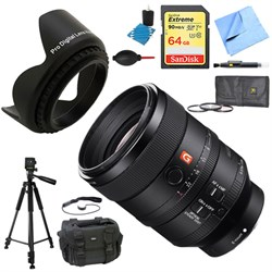 Sony FE 100mm F2.8 STF GM OSS Lens for Sony Cameras Delux...