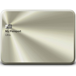 Western Digital My Passport Ultra Metal Edition 1TB Gold - WDBTYH0010BCG-NESN