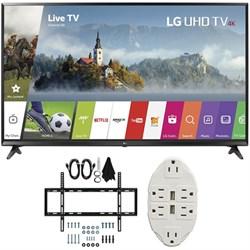 "LG 49"" Super UHD 4K HDR Smart LED TV 2017 Model 49UJ6300 ..."