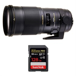 Sigma 180mm F2.8 EX APO DG HSM OS Macro for Canon w/ Sand...