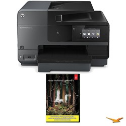 Hewlett Packard Officejet Pro 8620 e-All-in-One Wireless Color Printer w/ Photoshop Lightroom 5