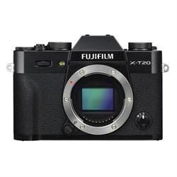 Fuji X-T20 Mirrorless Digital Camera Body - Black