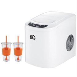 Igloo Ice 101-Black Countertop Ice Maker Black : Igloo Compact Ice Maker White with Copco 24 Ounce Togo Cup Mug Bundle