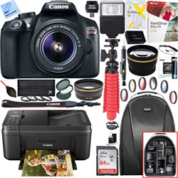 Canon EOS Rebel T6 DSLR Camera with 18-55mm IS II Lens + ...