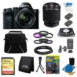 Sony Alpha 7K a7K Full-Frame Interchangeable Lens Digital Camera 28-70mm Lens Bundle E10SNILCE7KB