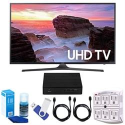"Samsung 43"" 4K UHD Smart LED TV (2017) + Terk HD TV Tuner..."