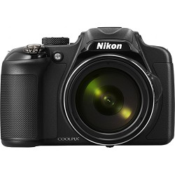 Nikon COOLPIX P600 16.1MP Digital Camera - Black