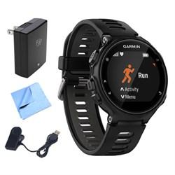 Garmin Forerunner 735XT GPS Running Watch (Black/Gray) w/...