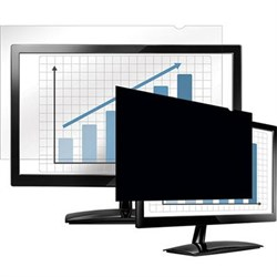 """Fellowes PrivaScreen Blackout Privacy Filter for 20.1"""" Widescreen LCD, 16:10 Aspect Ratio FEL4801301"""