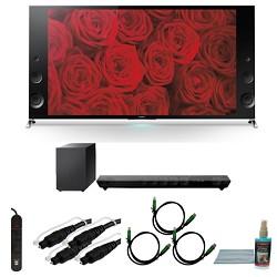 Sony XBR55X900B - 55-inch 120Hz 3D LED X900B Premium 4K Ultra HD TV Bundle