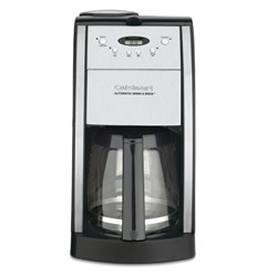 Cuisinart Brew Central 12-Cup Programmable Coffeemaker - Manufacturer Refurbished CUIDGB550BKRB